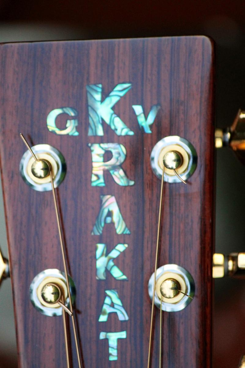 Custom Headstock Logo